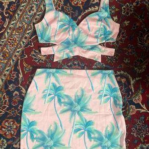Two-Piece Tobi Skirt & Top